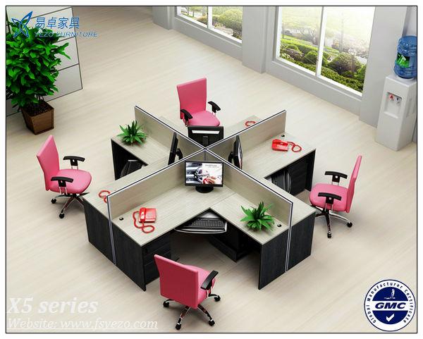 6 lugares de madeira cub culos de escrit rio parti es com for Cubiculos para oficina