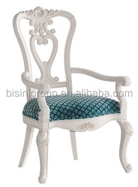 Bisini meubles royal antique blanc fran ais style for Sillas para 15 aneras