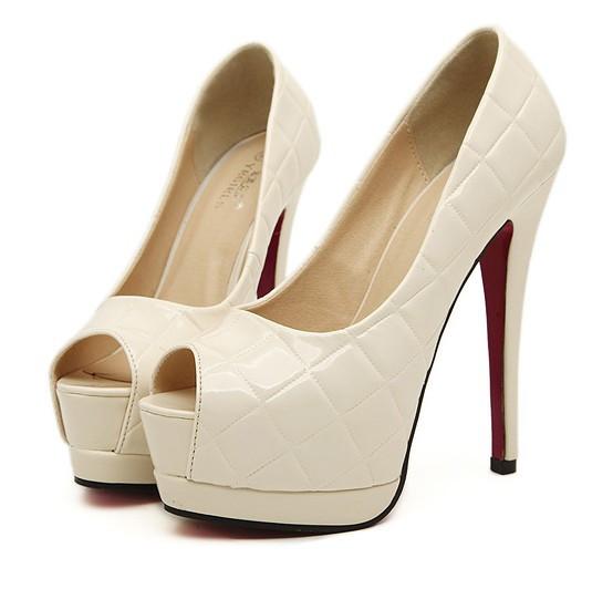 Туфли на высоком каблуке Toe 34/39 109-15