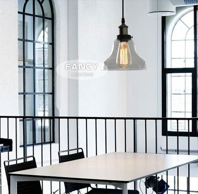 Aliexpress Buy Vintage Glass Pendant Lamp 110V 220V