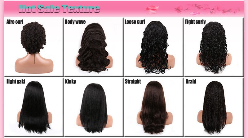 hair african american glueless full lace wigs/lace front human hair