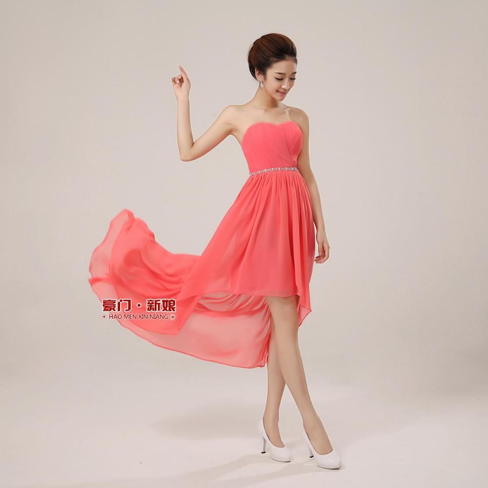 Платья с длинным задом