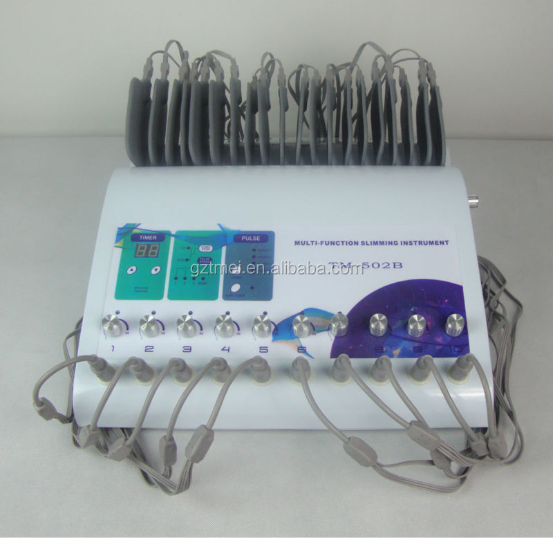 New 2019 Interferential Current Therapy Unit Electrotherapy Fisioterapia Equipment