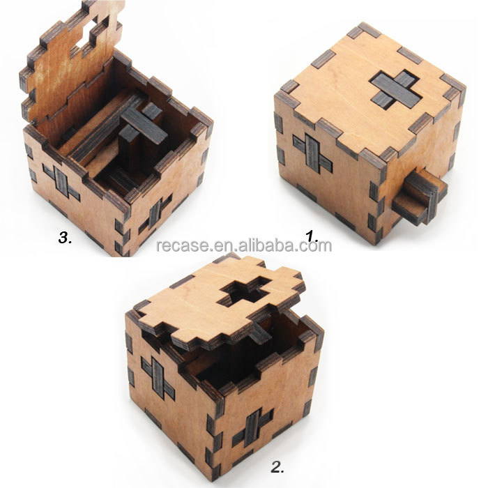 3d Wooden Puzzles For Adults 3d Adults Wooden Box Puzzle