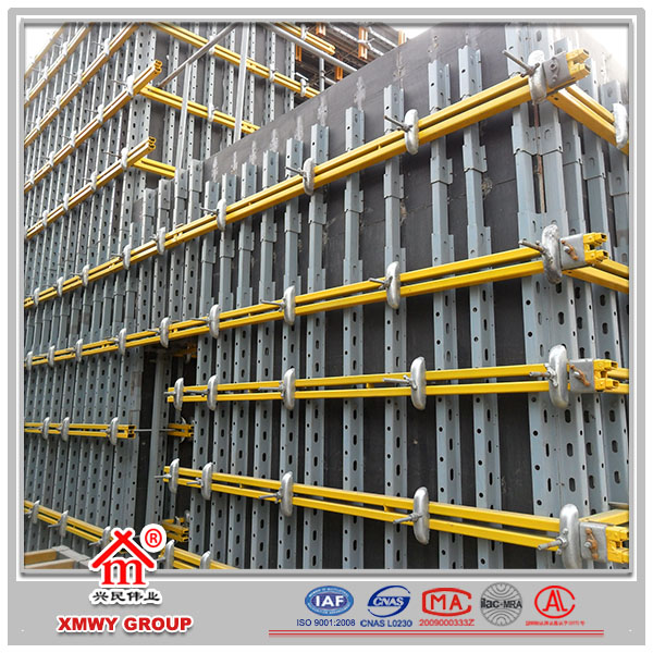 Shuttering Details For Wall : Concrete shuttering wall formwork building system buy
