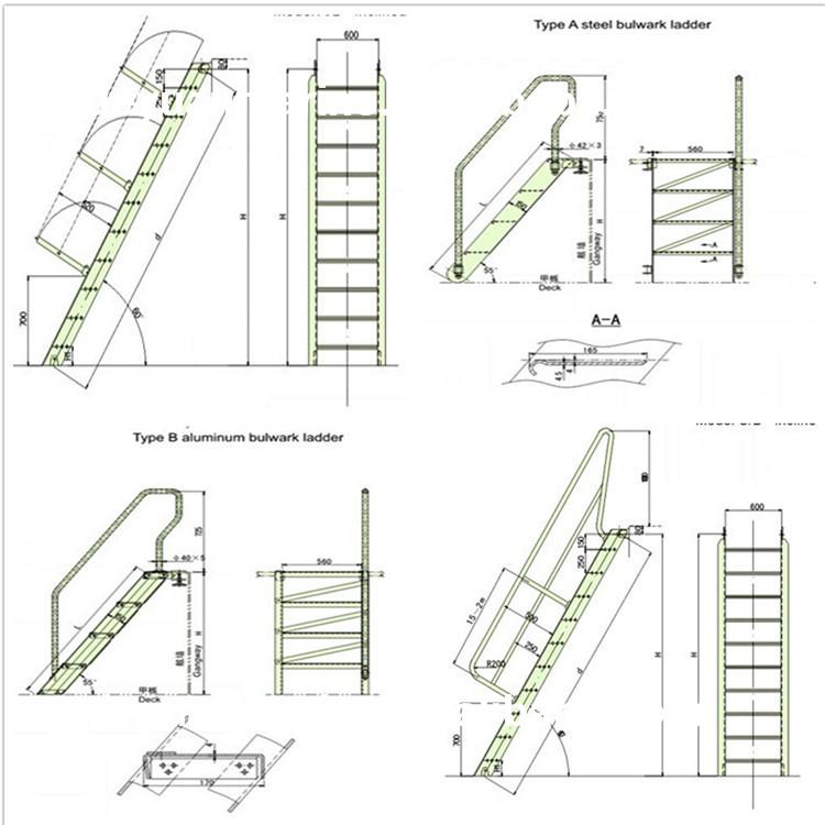 Steel Marine Gangway Ladder View Steel Gangway Ladder