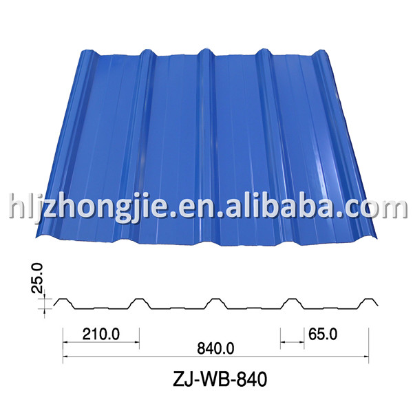beautiful color coated steel sheet metal roofing steel sheet