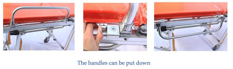 Скорая медицинская автоматическая загрузка носилки