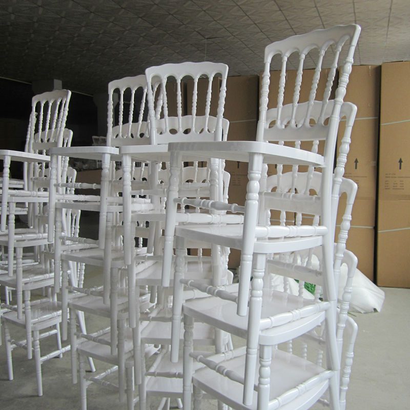 R sine pc mariage napol on chaise empilable chaises en for Chaise napoleon mariage