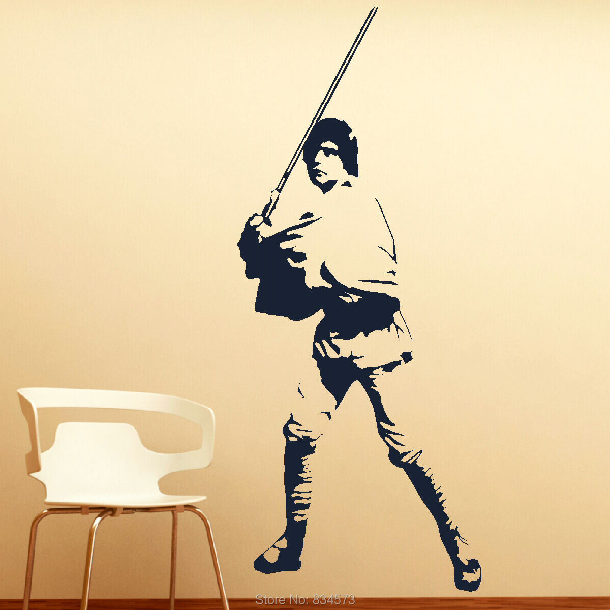 Home Decor Wall Sticker Hot Large Luke Skywalker Star Wars Wall Art ...