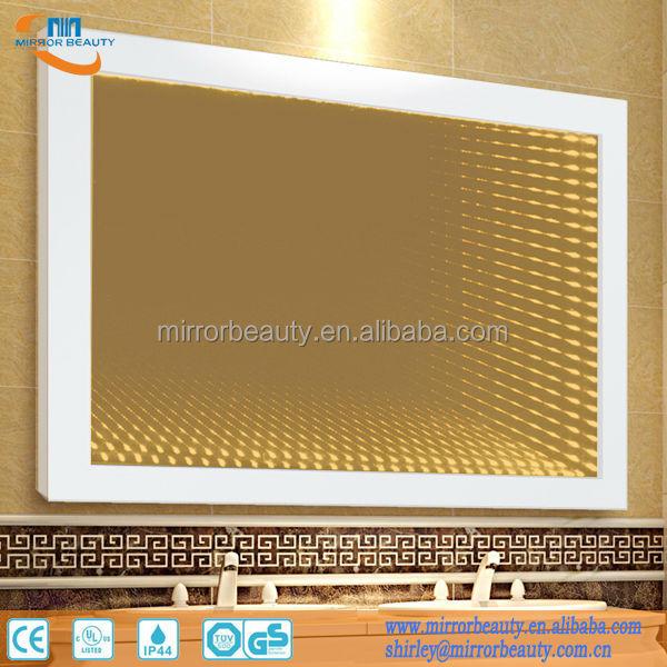 modern infinito led iluminado espejo del bao