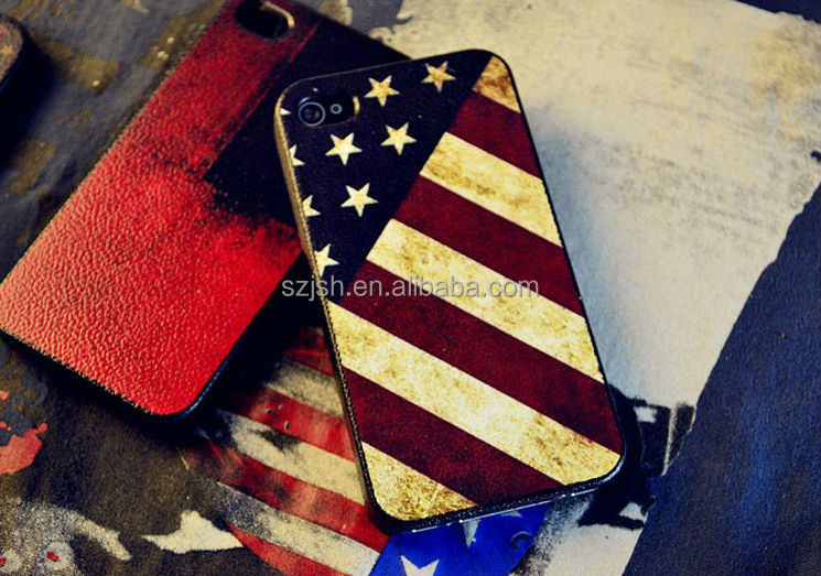 flag cover for iphone,cheap and extraordinary design mobile phone case mobile accessory for apple iphones