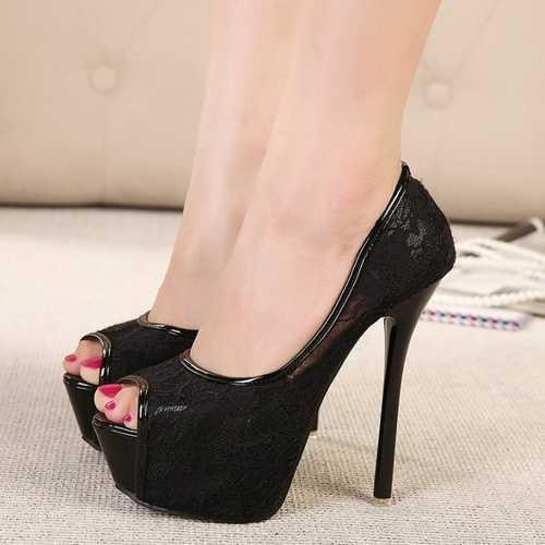 Туфли на высоком каблуке ADM811