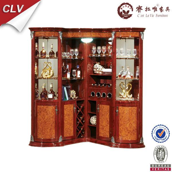 antique living room furniture wood cabinet corner with bar