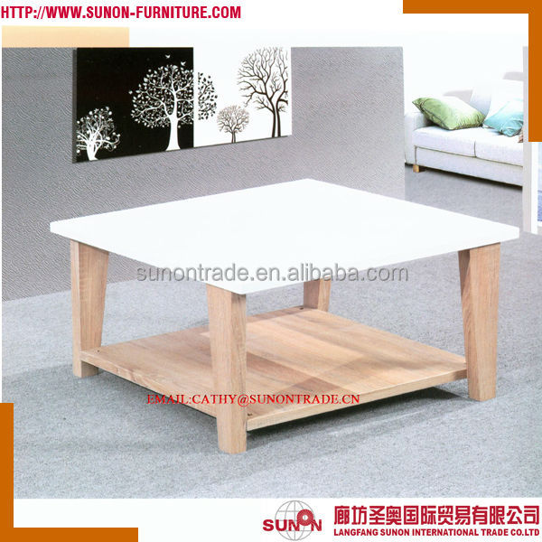CT FC460 Wooden Living Room Center Table Design View Center Table Design SU