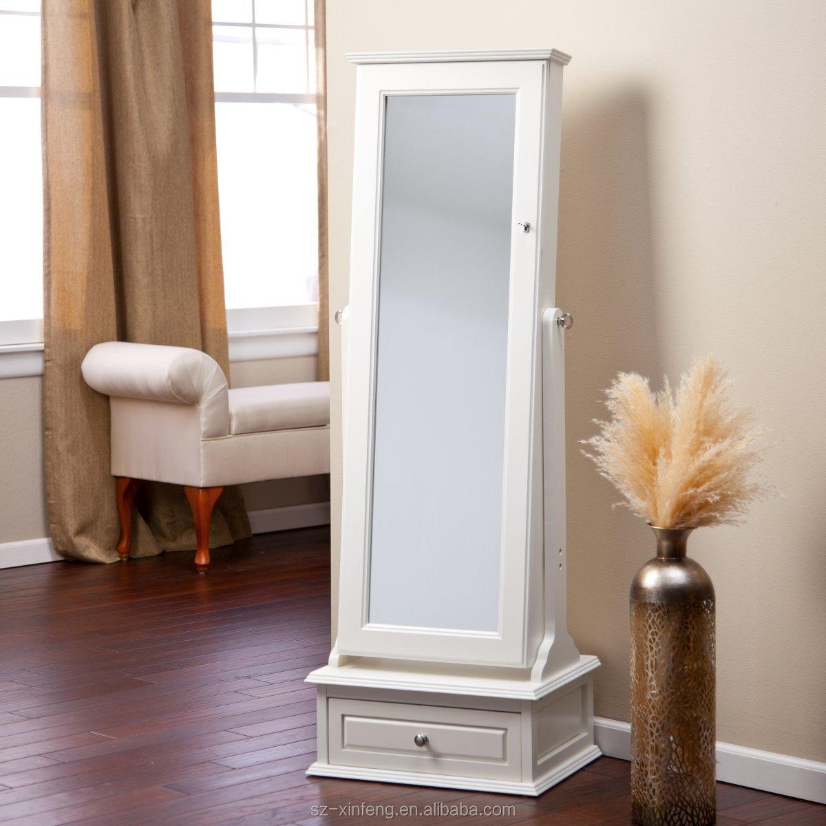 Jewelry Armoire With Mirror By Beautify Jewelry Ideas