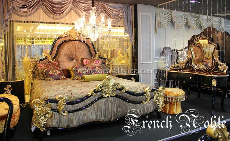 Bisini Noble Collection Luxury Bedroom Set View Bedroom