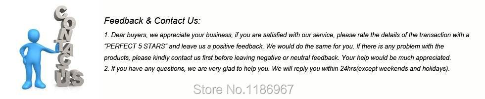 feedback&contact us