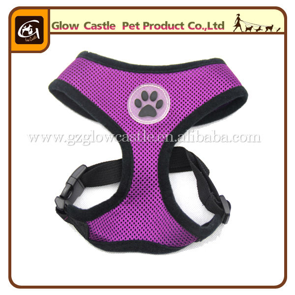 Glow Castle Fashion Paw Design Dog Harness With Soft Breathable Airmesh (3).jpg