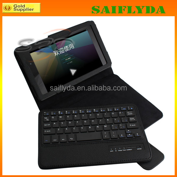 Best selling bluetooth for ipad mini case with keyboard