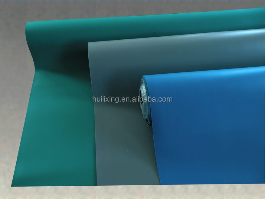 Rubber Mat For Table And Worktable Esd Green Rubber Table