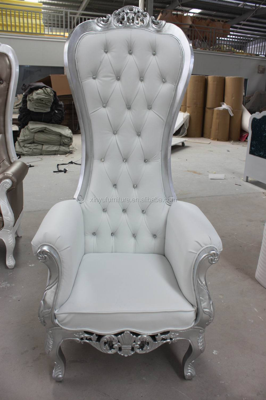 High Back Wedding Chairs Home Furniture China Luxury Classic Home Furniture