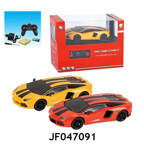 hot selling 4ch 1:24 rc car racing remote controlled car two colors