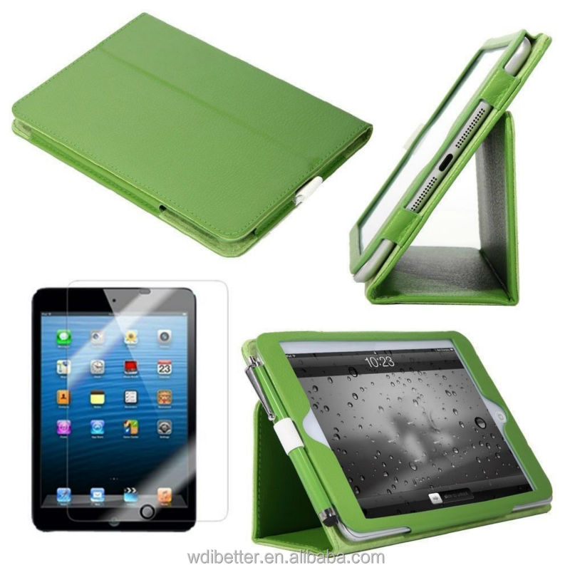 Book Leather Case For Ipad Mini Book Style Leather Case