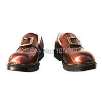Вдохновленный черный дворецкий ciel гладкую поверхность плоская обувь для косплэй