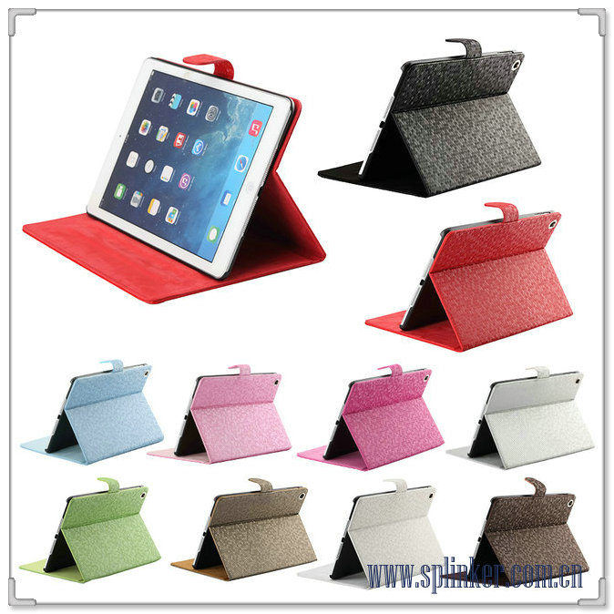 For iPad5 Nice Top 10 Leather & PU Case U1703-51