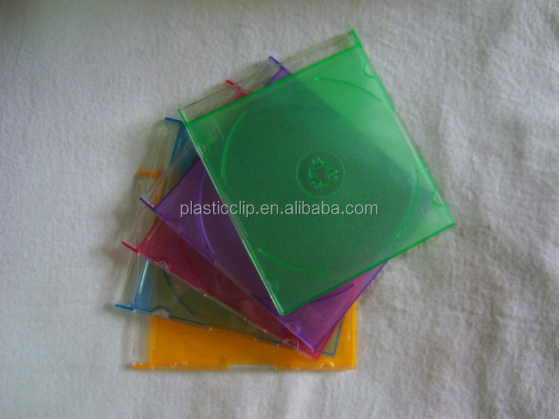 Plastic CD/DVD Box,fashion CD box