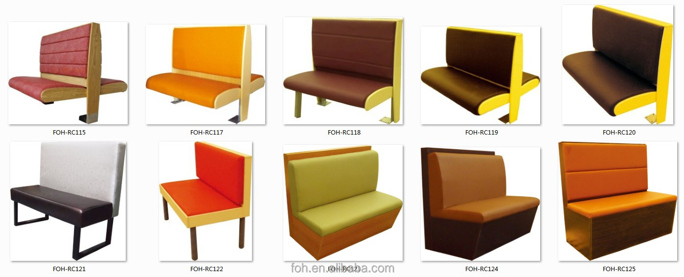 Guangzhou Round Cafe Sofa Booth bar Boothfoh xm27