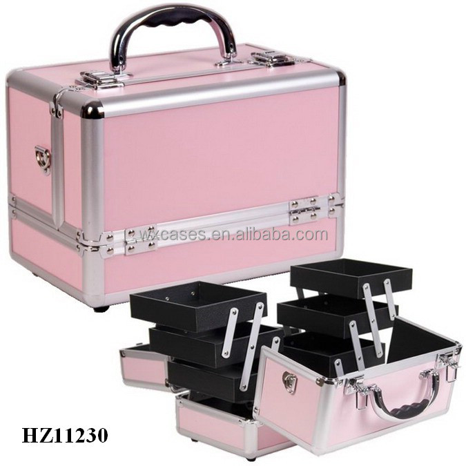 2014 new design&hot sale aluminum cosmetic case with multi colors high quality