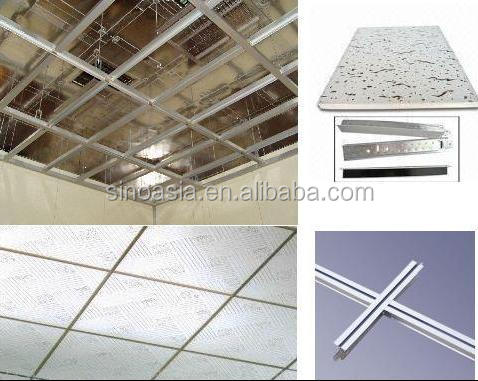 Diseño moderno pvc falso techo de yeso board azulejos de techo ...