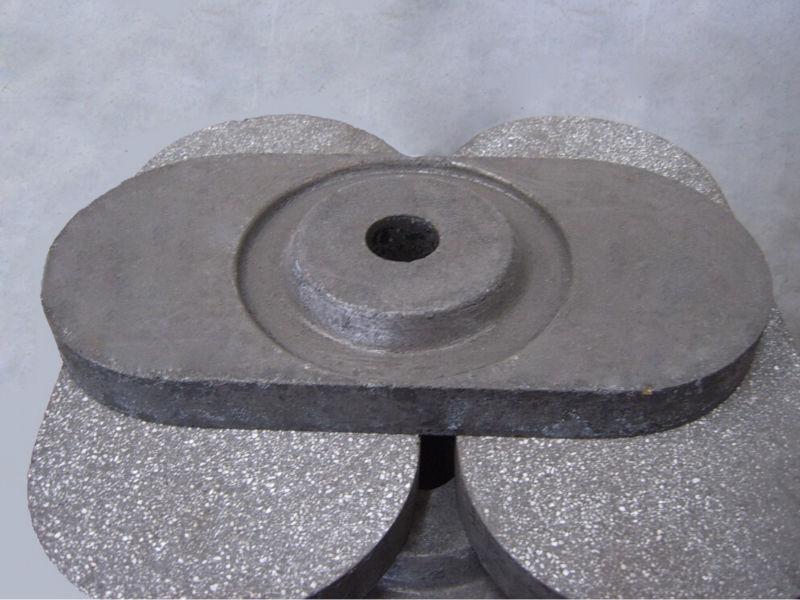 Ladle furnace steel flow control - LQ FLC 6300 slide gate plate
