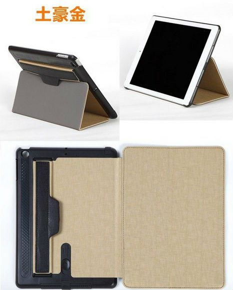 with Smart Cover Stand Magnetic Leather Case Sleep Function Leather Case for ipad mini 2