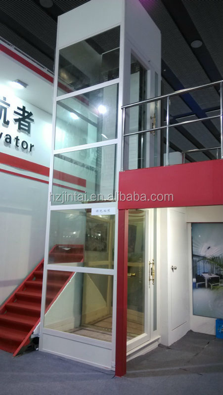 Elevator made in china glass residential small elevators for Small elevators