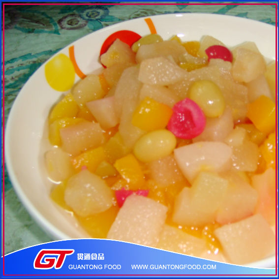 GT delicious canend fruits cocktail in syrup