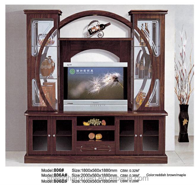India Style Tv Cabinet With Showcase 805 Led Tv Wall Unit Tv Showcase Design Buy Tv Showcase