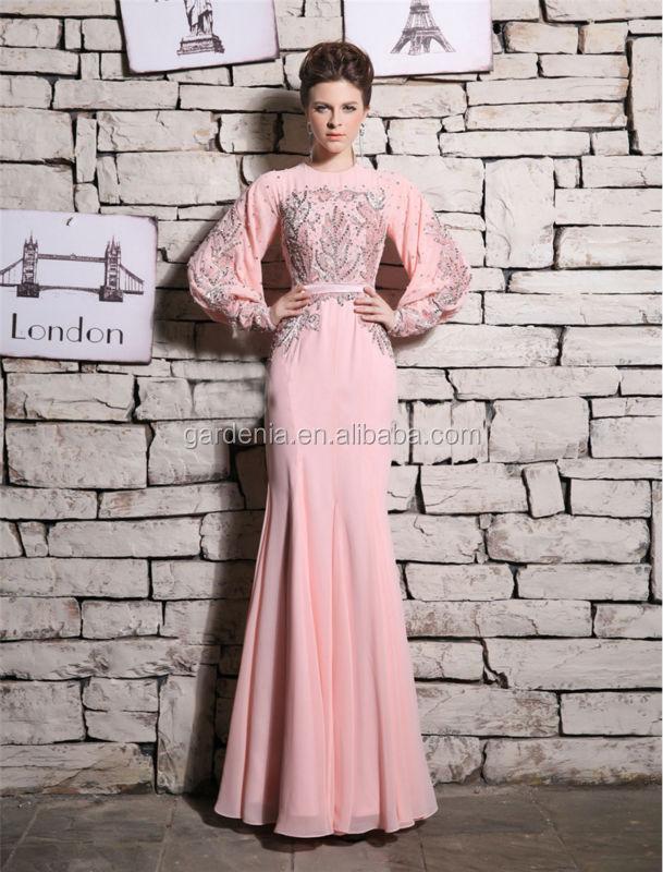 Magnífico una- de alta línea de cuello de perlas de color rosa de ...