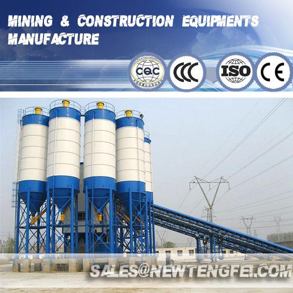 25-180CBM/h concrete batching plant
