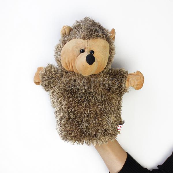 Ежик своими руками для кукольного театра 14