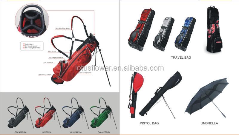 2014 High Quality Design Genuine Nylon Golf Bag