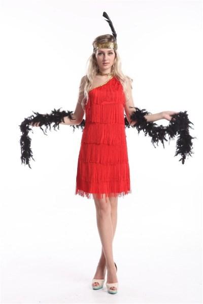 Платье С Висюльками В Стиле Чикаго Купить
