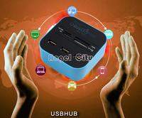 USB разветвитель Brand New 3 usb 2.0 multi /sd/mmc/2/ms/mp Pro Duo b9 SV001612 SV001612#