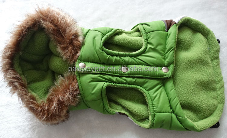 Top quality waterproof winter pet clothes for dogs