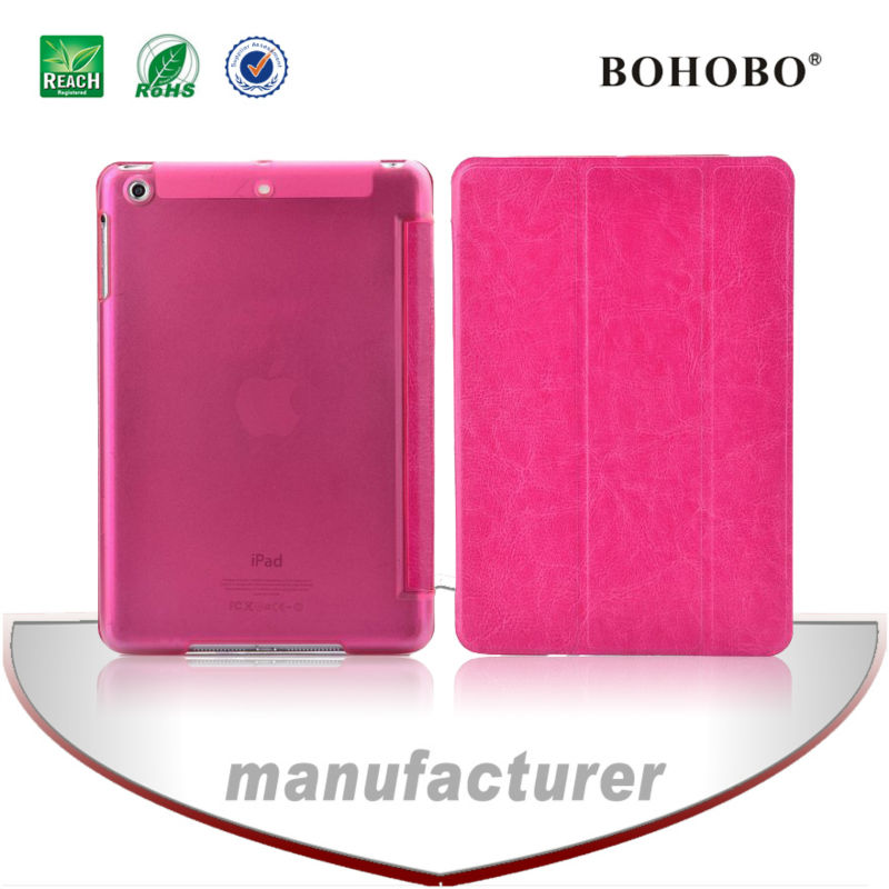 Made in china flip leather tablet case for apple ipad air