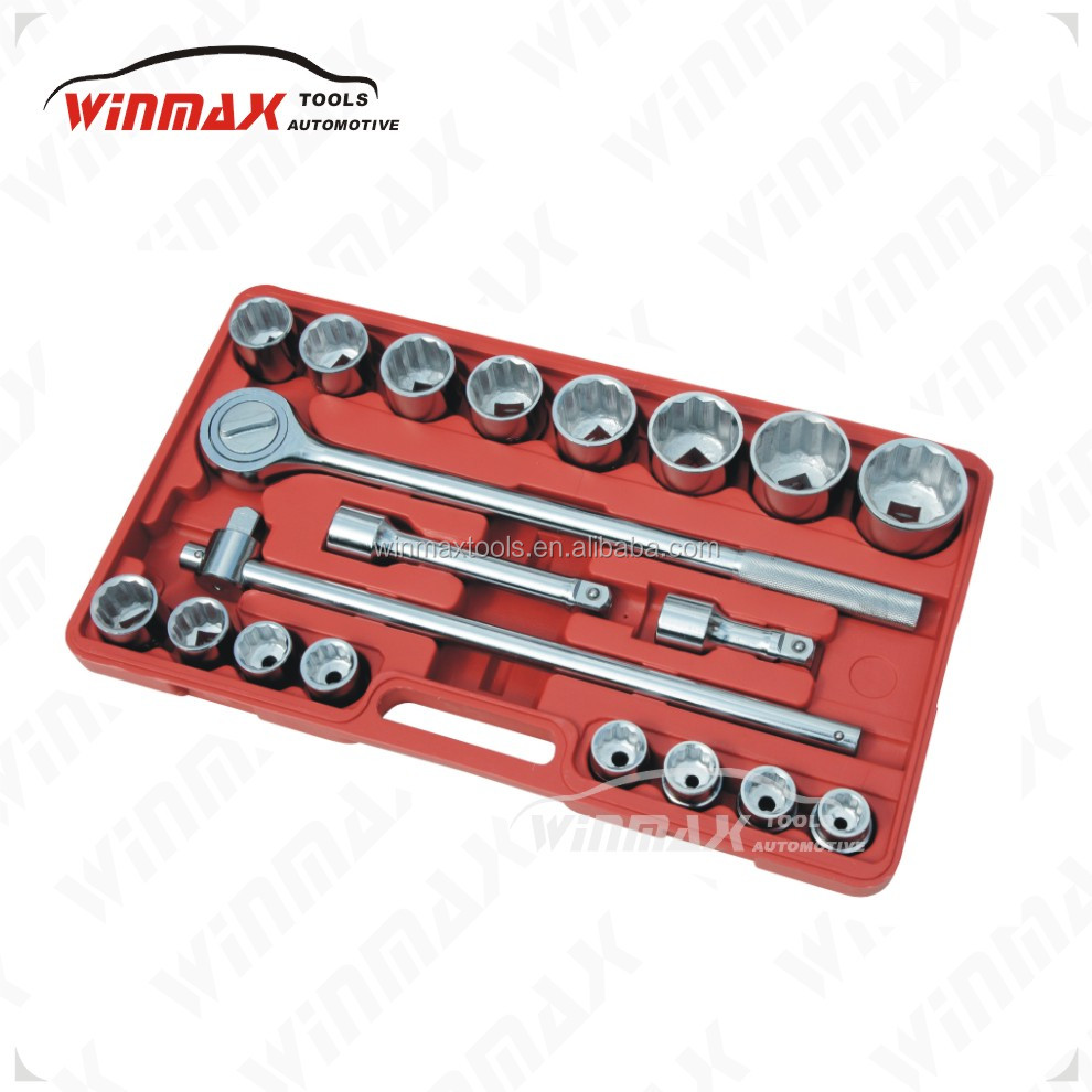 21PC 3/4 inch Drive Socket Set auto hand tool