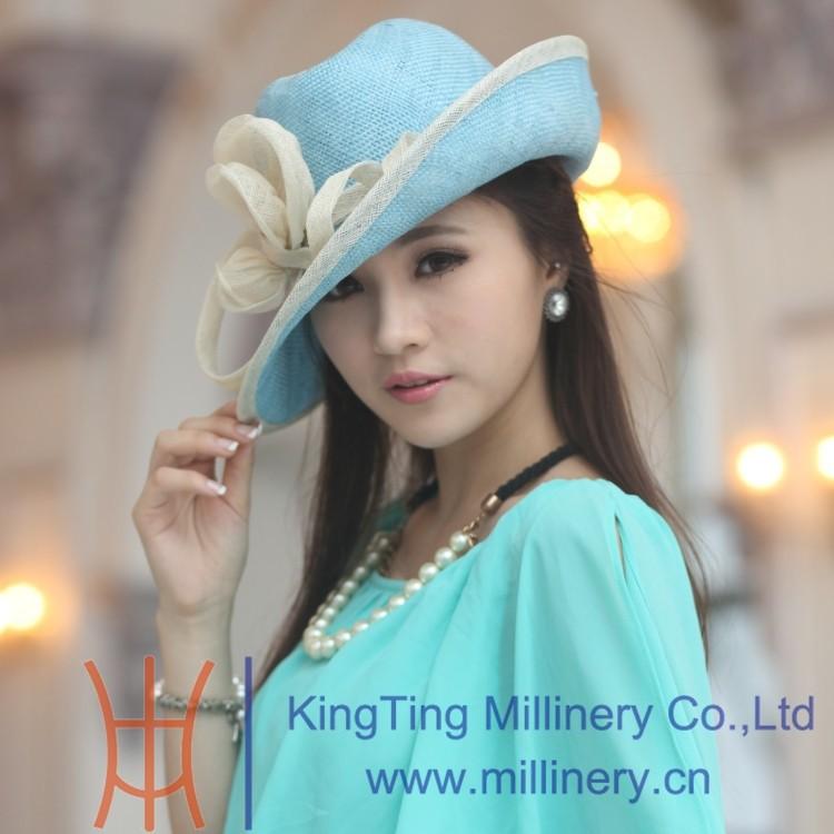 Женская шляпа от солнца Sinamay CM-0007