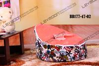 Baby Бин мешок с 2шт фиолетовые обложки baby место крышки baby Бин мешок кресло baby Бин Сумки ткань диван кресло-мешок
